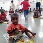 Food for people reopened for rural children at Gumla